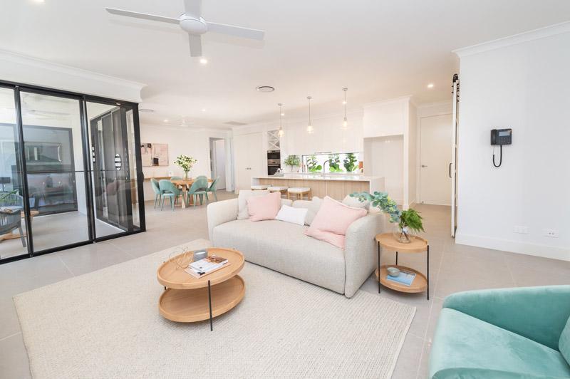 davis floor plan living room