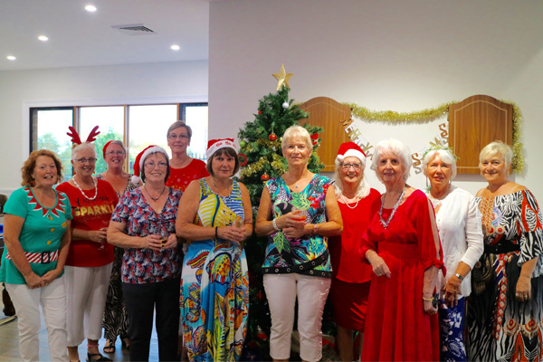 Our wonderful residents at Seachange Coomera having a great time